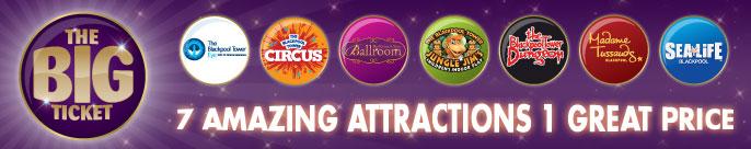Blackpool Attraction Big Ticket