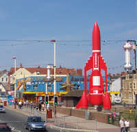 Blackpool Thunderbird Rocket and Lucky Star arcade