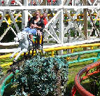 Steeplechase Rollercoaster - Blackpool Pleasure Beach