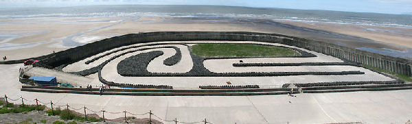 FormulaKart Track on Blackpool North Promenade