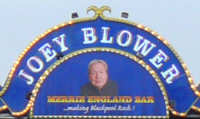 Joey Blower at Blackpool North Pier