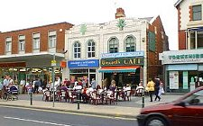 Cleveleys shops and cafe