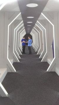 Star Trek The Exhibition The Costume Corridor