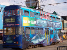 Blackpool SeaLife Tram