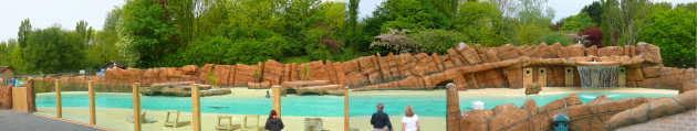 Blackpool Zoo - NEW Sea Lion Enclosure
